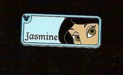 DISNEY CAST HIDDEN MICKEY COMPLETER JASMINE EYES PIN