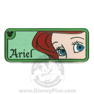 Disney Pins WDW Hidden Mickey Series ARIEL'S EYES