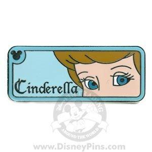 Disney Pin Rear View Mirror Cinderella Princess Eyes