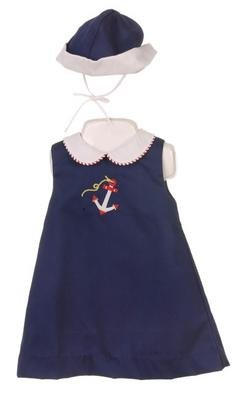 Petit Ami Infant Girl's Nautical Dress