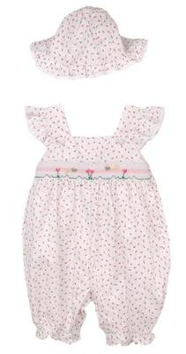 Petit Ami Infant Girl's Shortall
