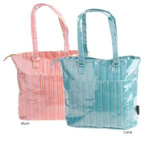 Kecci Infant Venetian Sparkle Pinstripe Mommy Bag
