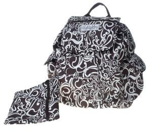 Toddot Black & White Backpack Diaper Bag