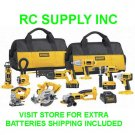 DeWalt Heavy-Duty XRP™ 18V Cordless 9-Tool Combo Kit