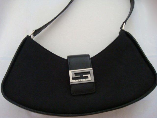 GUESS black Shoulder Bag Purse Tote
