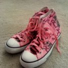 Converse Chuck Taylor All Star Canvas High Top Pink size 7