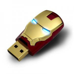 The AVENGERS USB Flash Drive Ironman Mask 8GB NEW