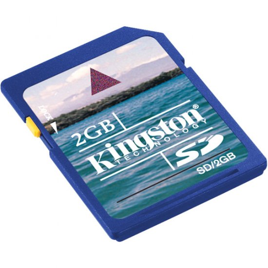Kingston 2GB SD� Memory Card