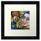 'My SunFlower Friend '  Framed Print