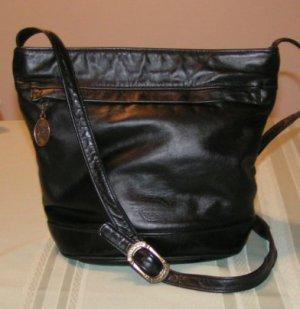 Vintage Stone Mountain Leather Bucket Style Handbag * SOLD