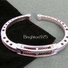 Stainless Steel SHOCK Spring Handcuff Bracelet