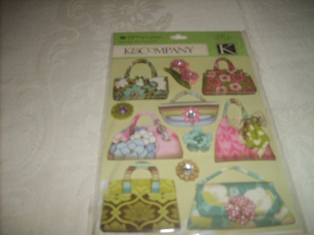 K&COMPANY   EMBELLISHMENTS (STICKERS)