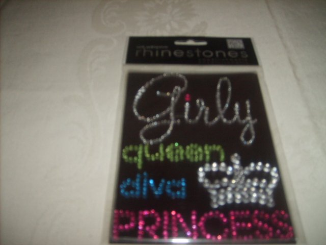 GIRLY RHINESTONES (SELFADHESIVE EMBELLISHMENTS/STICKERS)