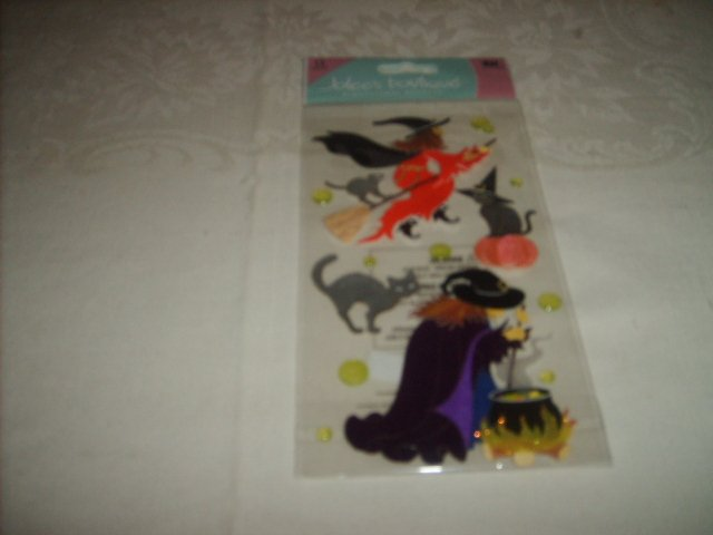 JOLEE'S  STICKERS  ( WITCHES AND CATS )