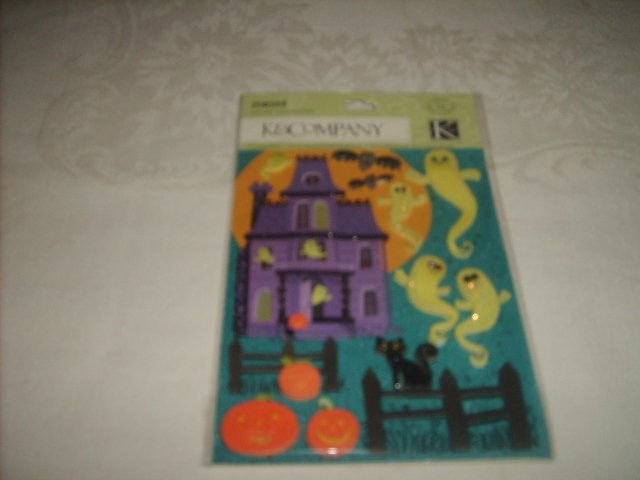 K & COMPANY STICKERS  ( HAUNTED HOUSE )