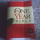 The one year bible-New living translation