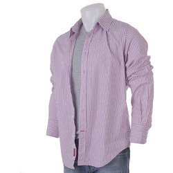 Guess Men's Pink Dream Woven Shirt Size Large