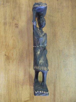 Handcarved women African Statue