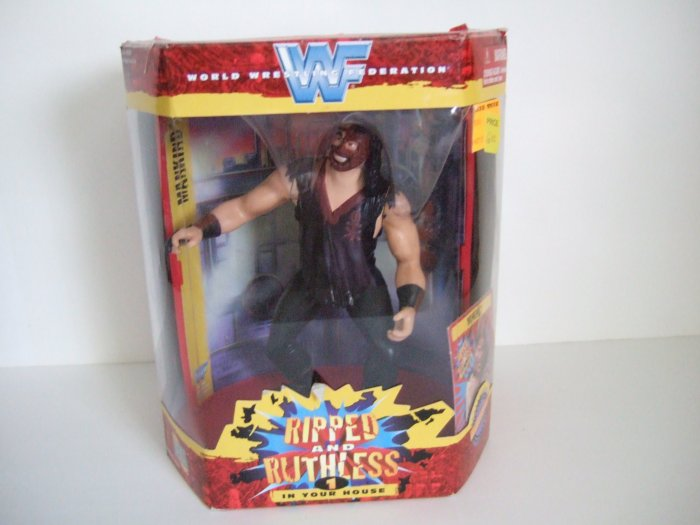 WWF Ripped And Ruthless Mankind Figure