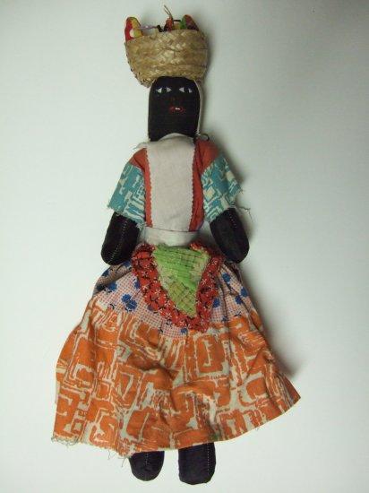 Vintage Africana  Clothe Doll