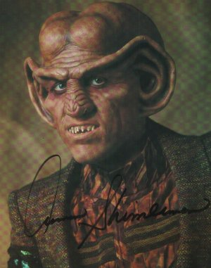 Star Trek Quark Shimerman Autograph 8x10