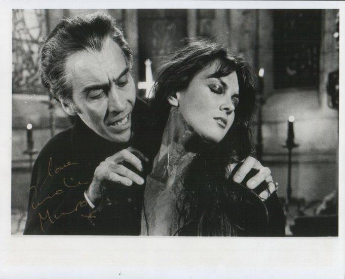Dracula Carol Marsh Autograph