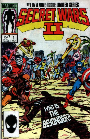 SECRET WARS II # 1