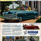 Vintage 1949 Dodge Wayfarer Advertisment
