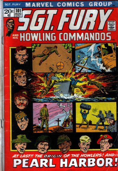 SGT. FURY AND HIS HOWLING COMMANDOS # 101