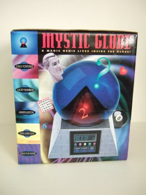 Mystic Globe Alarm Clock and Fortune Teller