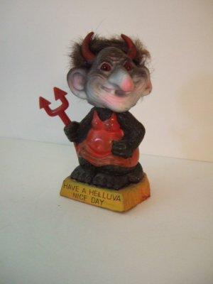 1972 Berries Woman Devil Troll Bobble Head