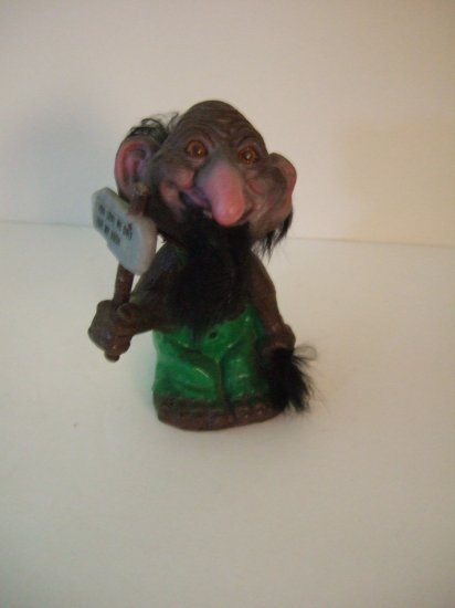 1971 Berries Troll Bobble Head