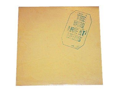 The Who LIVE AT LEEDS LP ALBUM