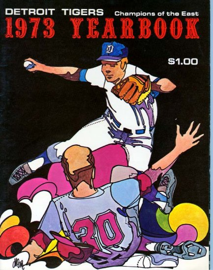1973 Detroit Tigers Yearbook.