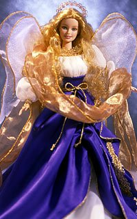 2000 HOLIDAY ANGEL BARBIE DOLL SPECIAL EDITION