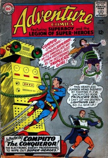 ADVENTURE COMICS JAN. 1966 NO. 340  Age: Silver