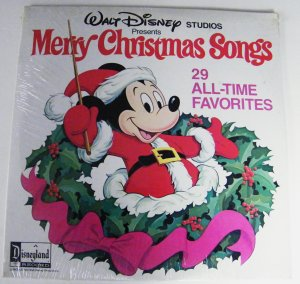 1970'S Walt Disney Christmas LP RECORD Albums