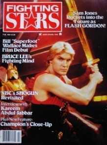 FEB 1981 FIGHTING STARS MAGAZINE