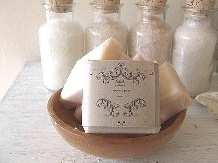 japanese pear gourmet soap