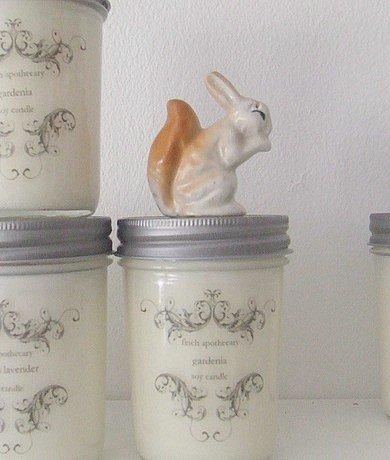 gardenia candle / 8 oz