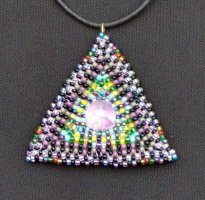 Magic Triangle Pendant Necklace