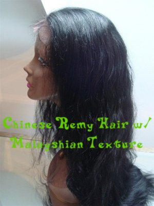 Cusomized Chinese Remy Full Lace Wig