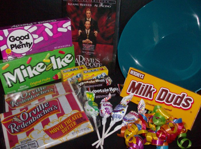 """""""The Original"""" Pick-a-Flick DVD Popcorn & Candy Gift Bowl"""