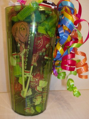 Tootsie Tumbler Candy Gift in Green
