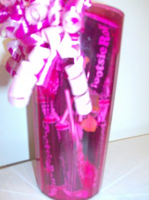 Tootsie Tumbler Candy Gift in Pink