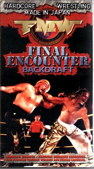 FMW Final Encounter Video SEALED Hardcore Japan WWE WWF WCW ECW TNA