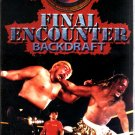 FMW Final Encounter Video SEALED Hardcore Japan WWE WWF WCW ECW TNA