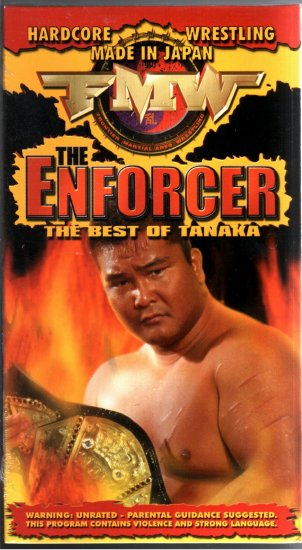 FMW The Enforcer Video SEALED Hardcore Japan WWE WWF WCW ECW TNA