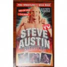 Pre WWF WWE Steve Austin Greatest SEALED Video In Box WWE WWF WCW ECW TNA