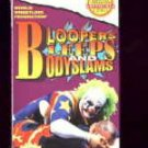 WWF Bloopers Bleeps Bodyslams SEALED Coliseum Video 1994 WWF WCW ECW TNA